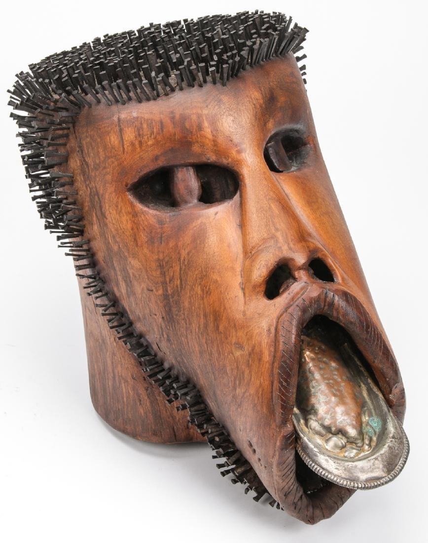 John Simpson (American, 20th c.) Head Sculpture, 1977