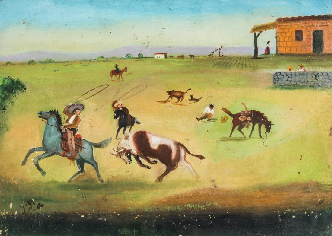 Antique Mexican Ex Voto, late 19th c.