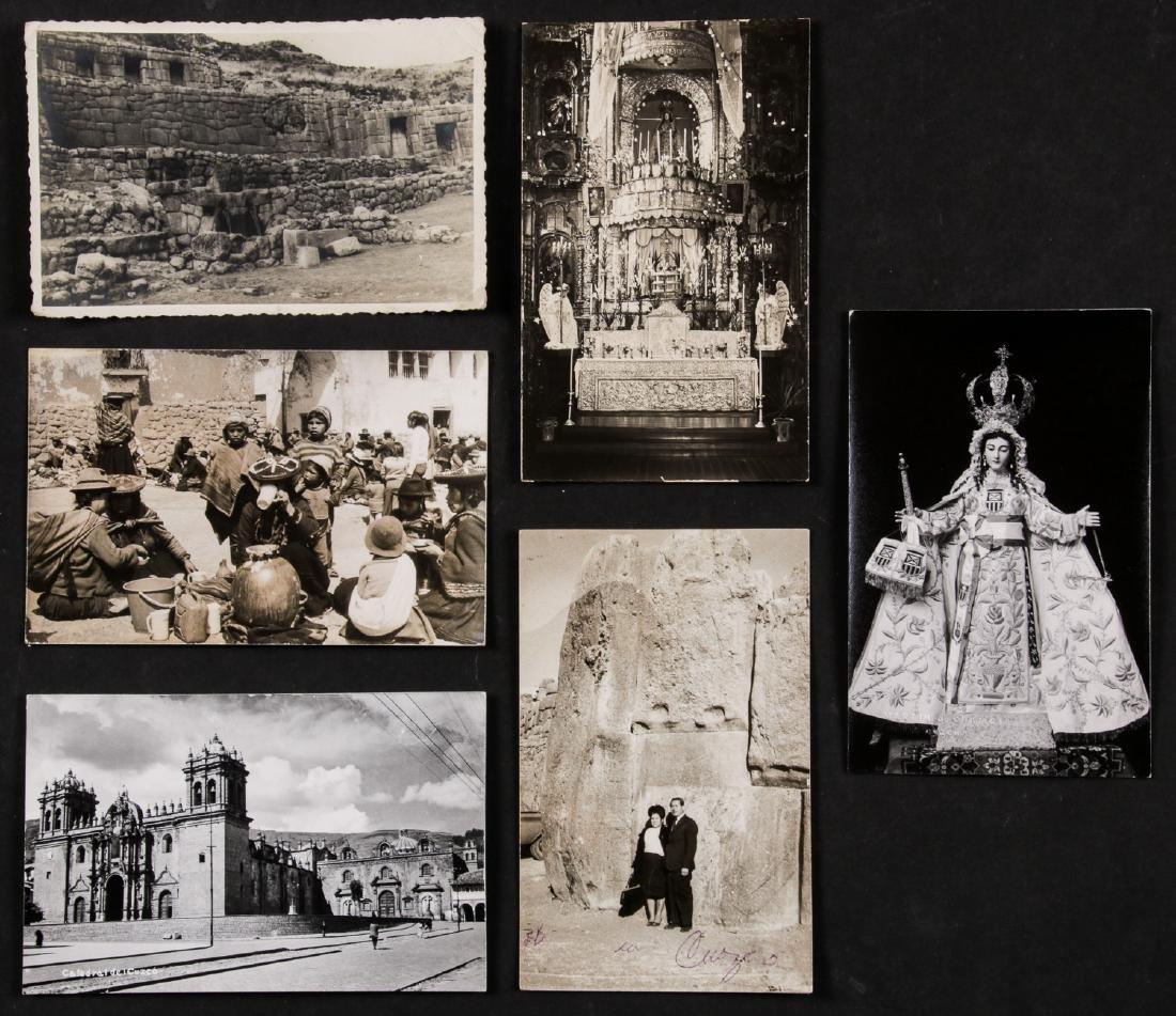 6 Vintage Martin Chambi Photo Postcards