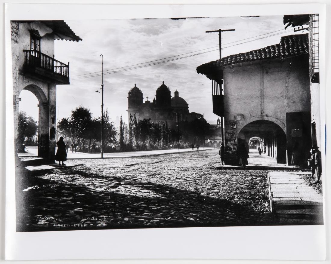 "Martin Chambi (1891-1973) ""Cusco Plaza"" Photograph"