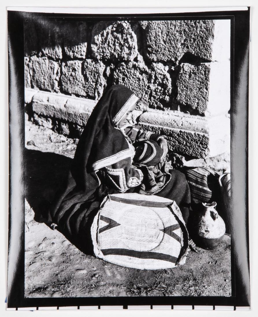 "Martin Chambi (1891-1973) ""Woman Nursing"" Photograph"