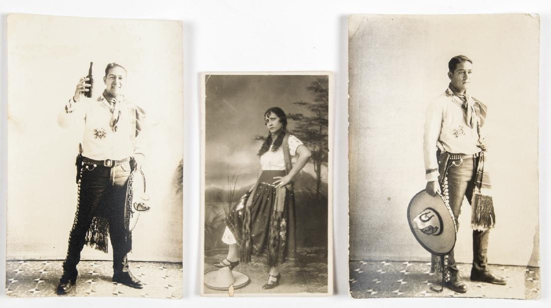 3 Vintage Mexican Silver Gelatin Photographs, c. 1930