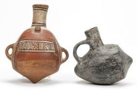 2 Peruvian Vessels, c. 1000 AD