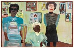 """Mose Tolliver (1925-2006) """"Mose Ernest Tolliver with"""
