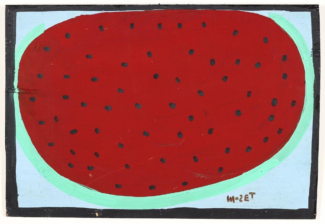 Mose Tolliver (American/Alabama, 1925-2006) Watermelon,