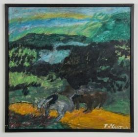 Justin McCarthy (American, 1892-1977) Landscape