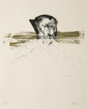 "Leonard Baskin (1922-2000) ""Merian"""