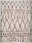 Moroccan Beni Ourain Rug: 8' x 10'11''