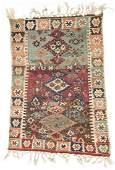 Antique East Anatolian Kilim: 37'' x 51.5'' (94 x 131