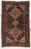Antique Gashgai Rug: 3'9'' x 6'1'' (114 x 185 cm)