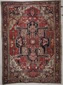 Antique Serapi Rug: 9' x 12'9'' (274 x 389 cm)