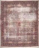 Antique Lavar Kerman Rug: 11'7'' x 14'10'' (353 x 452