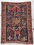 Antique Shirvan Rug: 3'7'' x 5'2'' (109 x 157 cm)