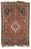 Antique Gashgai Rug: 4'1'' x 6'3''