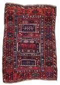 Antique East Anatolian Kurd Rug: 4'8'' x 6'4''