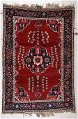 Antique Gashgai Rug 5 x 74 152 x 224 cm