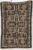 Antique Kuba Rug : 3'6'' x 5'3'' (107 x 160 cm)