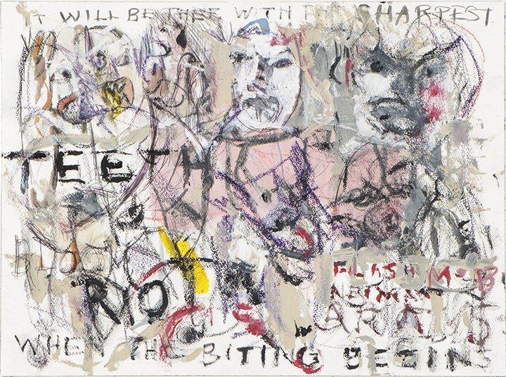 "Jim Bloom (American, b. 1968), ""When the Biting Begins"""