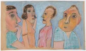 Jim Bloom (American, b. 1968), Untitled, Mixed Media