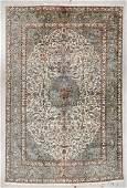 Vintage Tabriz Rug: 10'6'' x 16'2''