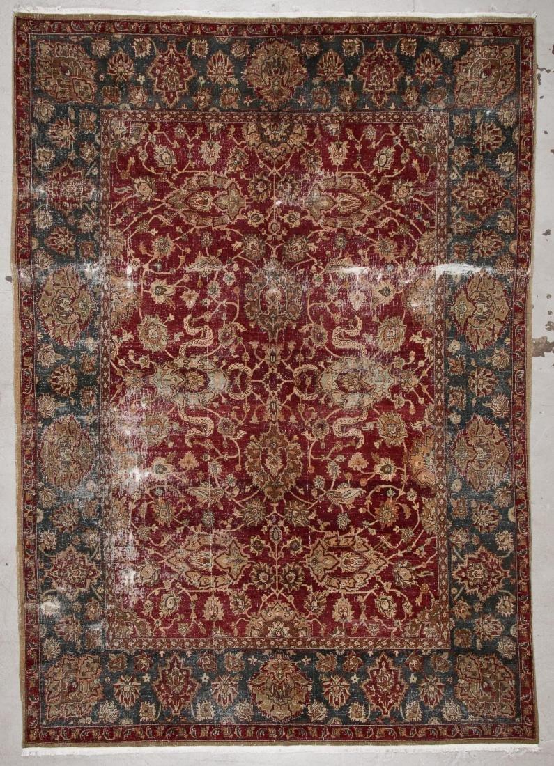 Vintage Agra Rug: 7'11'' x 11'2''