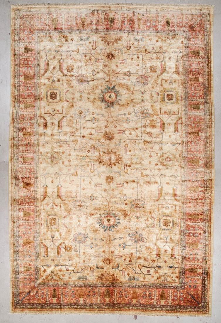 Afghan Chobi Rug: 12' x 17'10''
