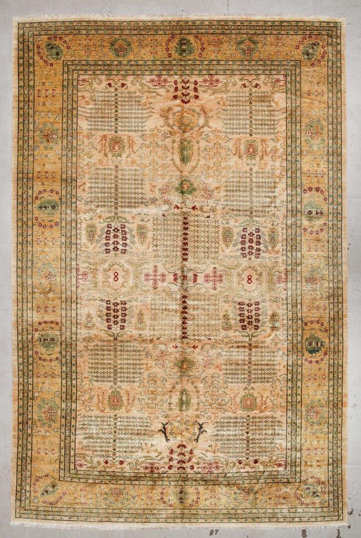 Afghan Chobi Rug: 11'9'' x 17'8''