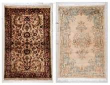 2 Oriental Scatter Rugs