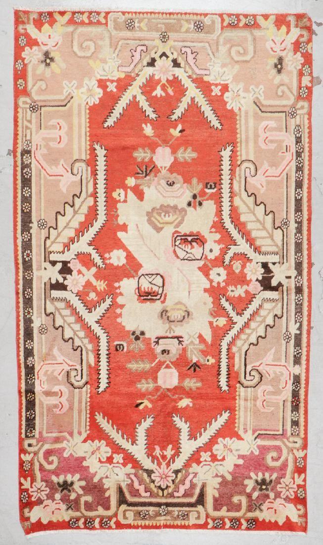 Antique Khotan Rug: 5'7'' x 9'8'' (170 x 295 cm)