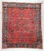 Antique Lilihan Rug: 5'6'' x 6'3'' (168 x 191 cm)