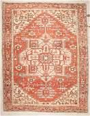 Antique Serapi Rug: 9'10'' x 12'6'' (300 x 381 cm)