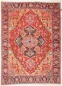 Antique Heriz Rug: 8'9'' x 12'5'' (267 x 378 cm)