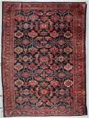 Antique Lilihan Rug: 8'7'' x 11'5'' (262 x 348 cm)