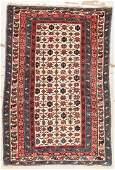Antique Kuba Rug : 3'7'' x 5'3'' (109 x 160 cm)