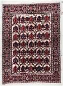 Antique Afshar Rug: 4'9'' x 6'6'' (145 x 198 cm)