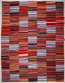 Turkish Striped Kilim: 12' x 15'1'' (366 x 460 cm)