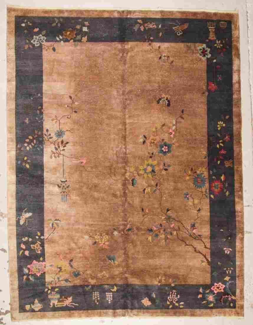 Chinese Art Deco Rug, c. 1930's: 8'10'' x 11'9''