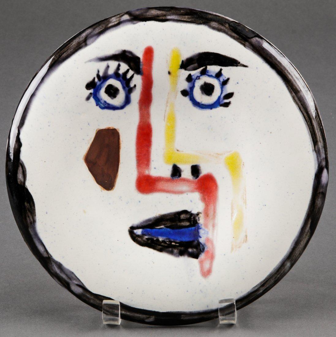 Pablo Picasso (1881-1973) Visage no. 192