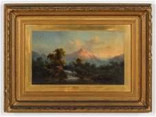 Guido Hampe German 18391902 Mountain Landscape