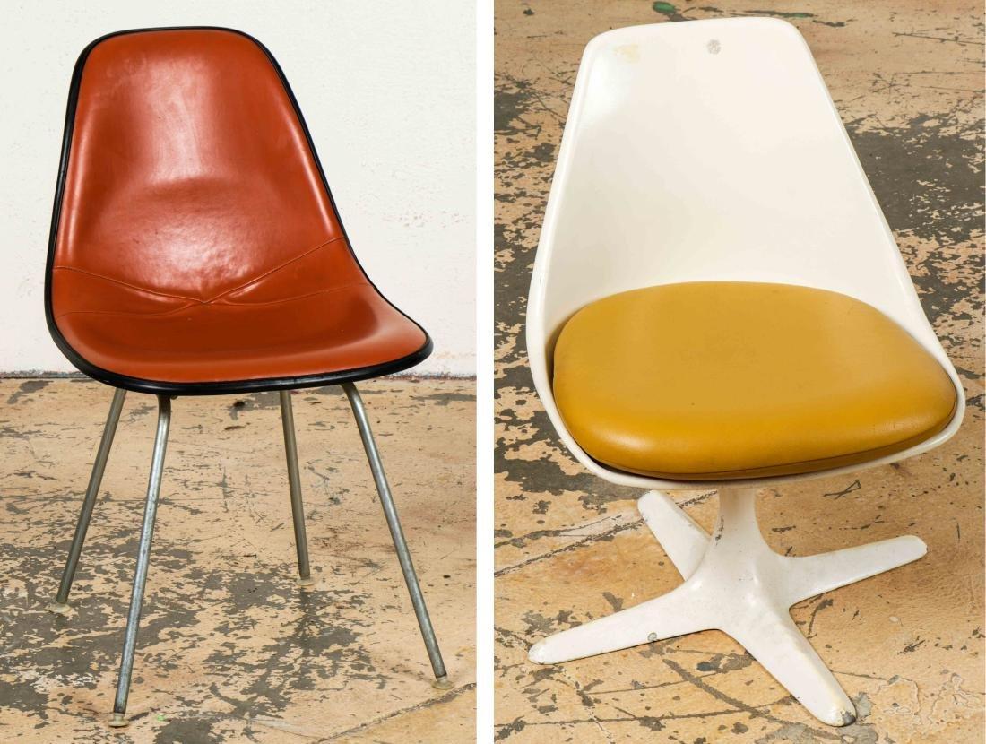 Vintage Herman Miller Chairs >> Vintage Herman Miller Chair And A Burke Chair
