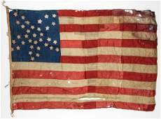 Civil War Era 34 Star American Flag (1861-1863)
