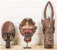 3 African Headdresses