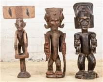 3 African Figures