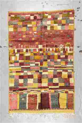 Moroccan Rug: 5'4'' x 8' (163 x 244 cm)