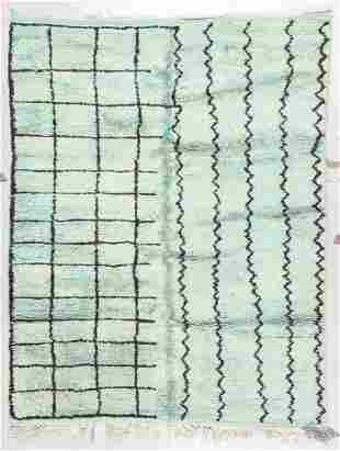 Moroccan Rug: 4'11'' x 6'3'' (150 x 191 cm)