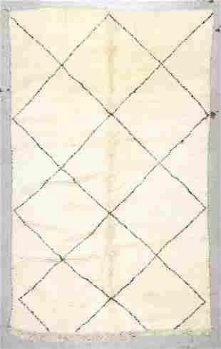 Beni Ourain Rug: 6'3'' x 9'10'' (191 x 300 cm)