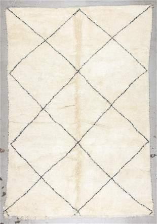 Beni Ourain Rug: 6'9'' x 10' (206 x 305 cm)