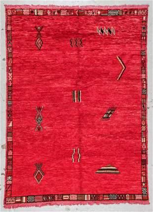 Moroccan Rug: 5'7'' x 7'8'' (170 x 234 cm)