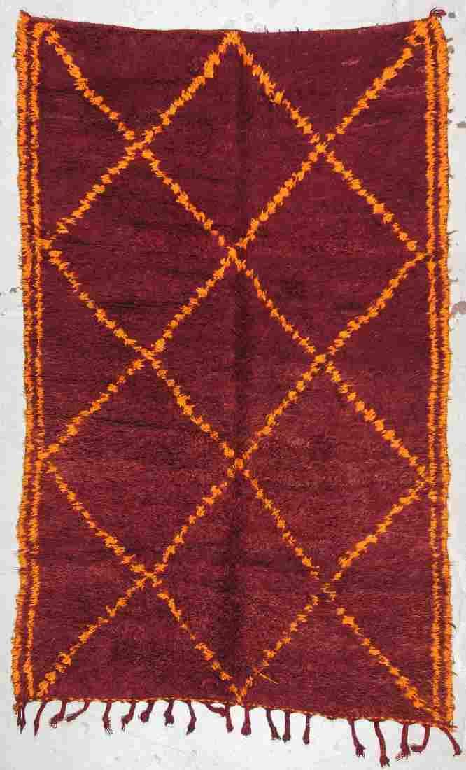Moroccan Rug: 5'11'' x 9'6'' (180 x 290 cm)