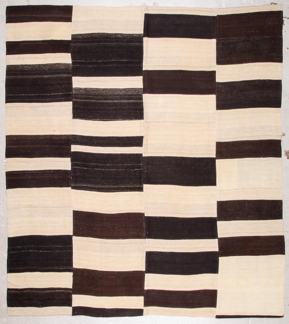 Turkish Kilim: 8'8'' x 9'7'' (264 x 292 cm)